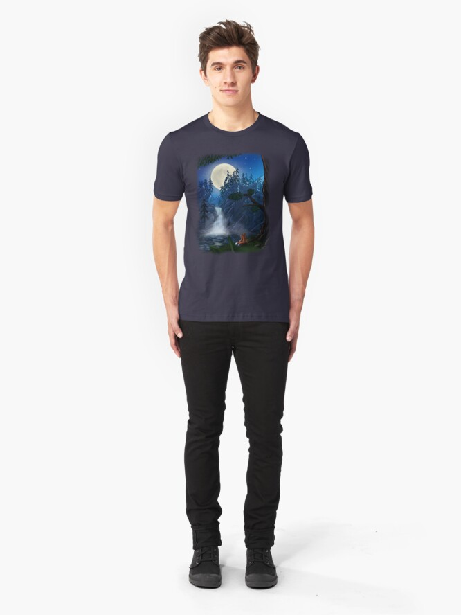 Alternate view of ROMANTIC MOONSHINE Slim Fit T-Shirt