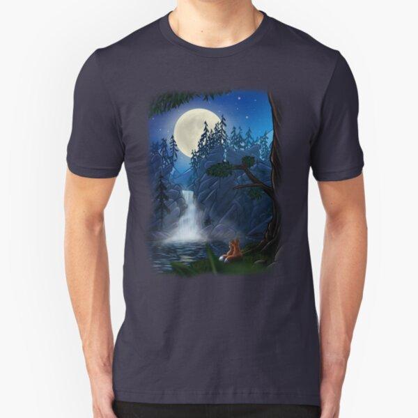 ROMANTIC MOONSHINE Slim Fit T-Shirt