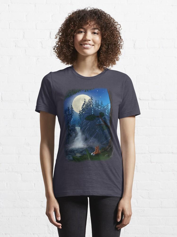 Alternate view of ROMANTIC MOONSHINE Essential T-Shirt