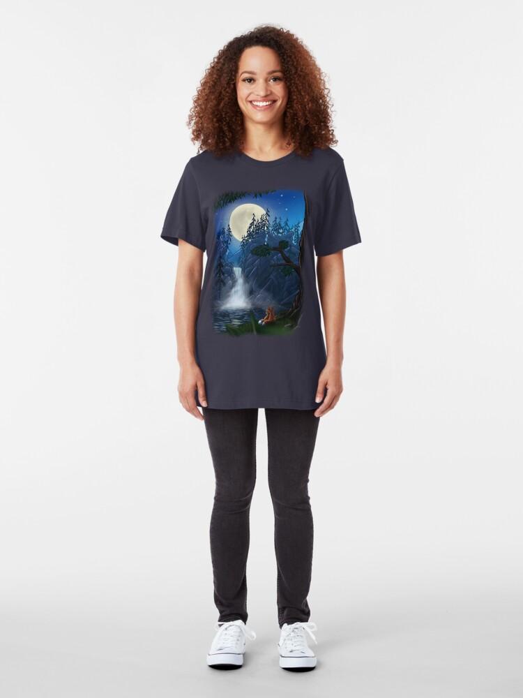 Alternate view of ROMANTIC MOONSHINE Slim Fit T-Shirt