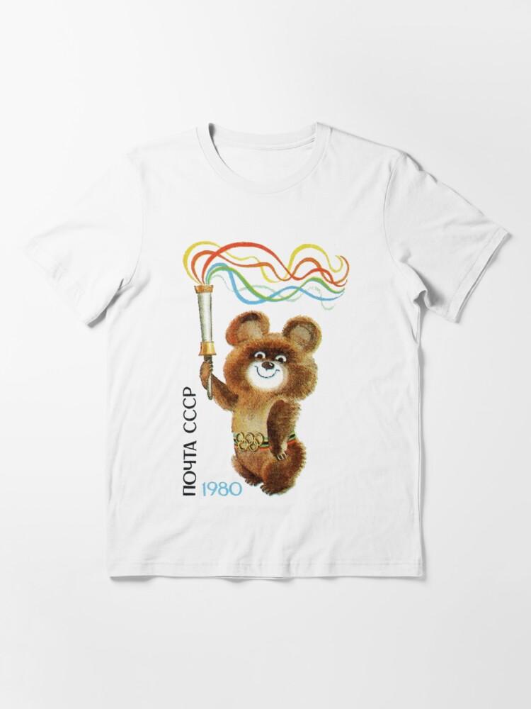 T-shirt Misha Moscou//Moscow 1980 S-XXXL #misha #moscow #moskau