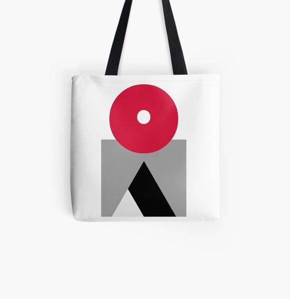 La Montagne All Over Print Tote Bag