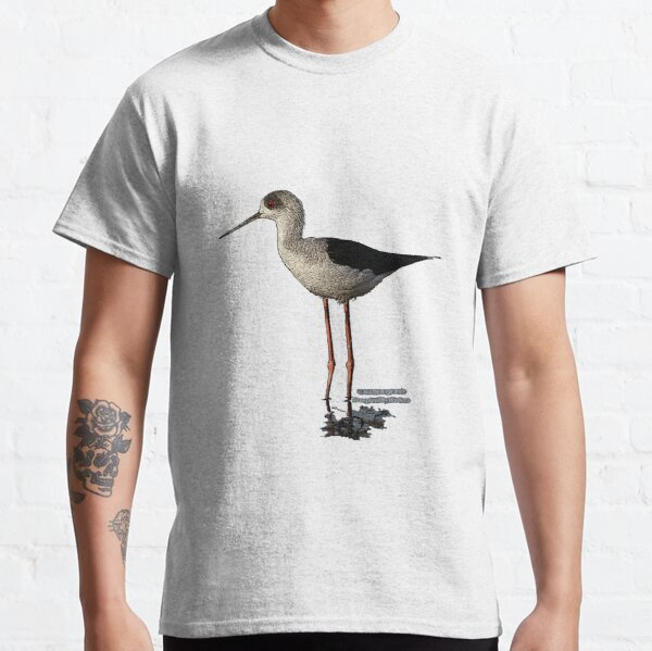Black-winged Stilt - Inspired By Waders Classic T-Shirt