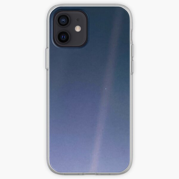 Pale Blue Dot. Voyager 1's image of Planet Earth from 6 billion kilometers. iPhone Soft Case