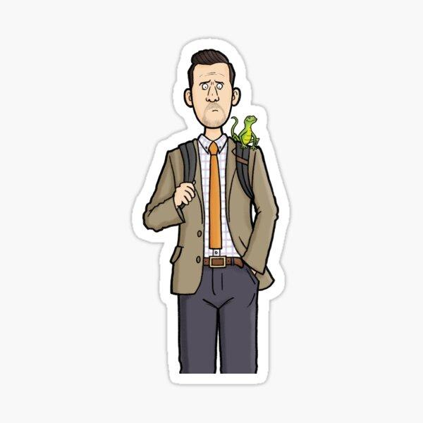 Neville Parker - Death in Paradise Sticker