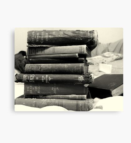 Books of a Certain Age Canvas Print