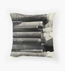 Books of a Certain Age Throw Pillow
