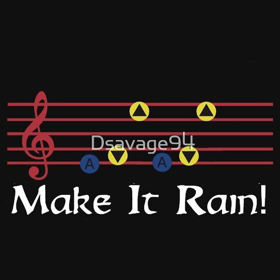 TShirtGifter presents: Make It Rain (Legend Of Zelda)