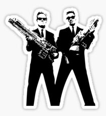 Men in Black Sticker