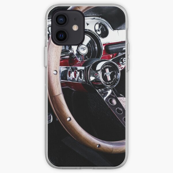 Ford Mustung Details #7 iPhone Soft Case