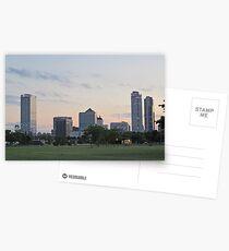 Daylight Milwaukee Skyline Postcards