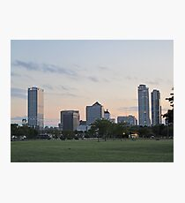 Daylight Milwaukee Skyline Photographic Print