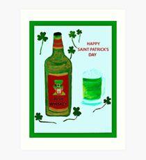 Happy Saint Patrick's Day Art Print