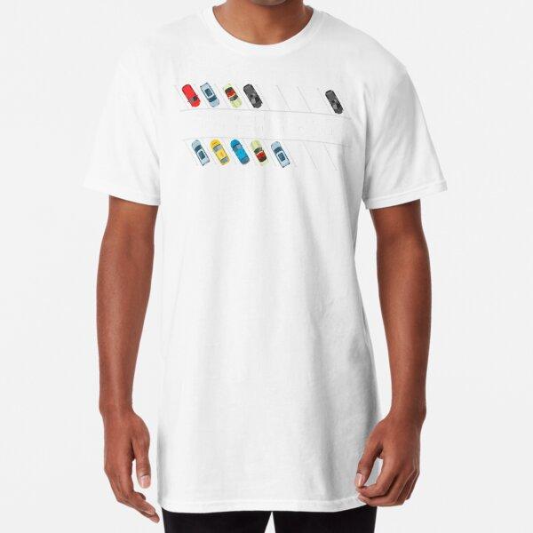 Socially Responsible Parking - Social Distancing Gearhead Long T-Shirt