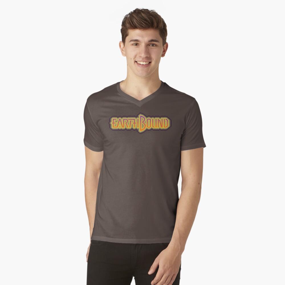 EarthBound Mens V-Neck T-Shirt Front
