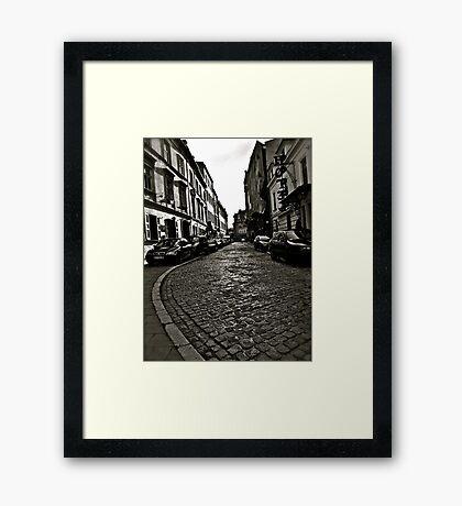 Poselska street, Kraków, Poland . by Doktor Faustus . Favorites: 1 Views: 82 . Thx! Framed Print