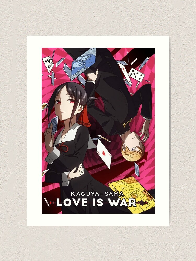 Kaguya Sama Love Is War Art Print By Netdarla Redbubble
