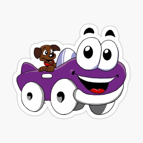 Putt Putt Car (Humongous Entertainment Game) Sticker