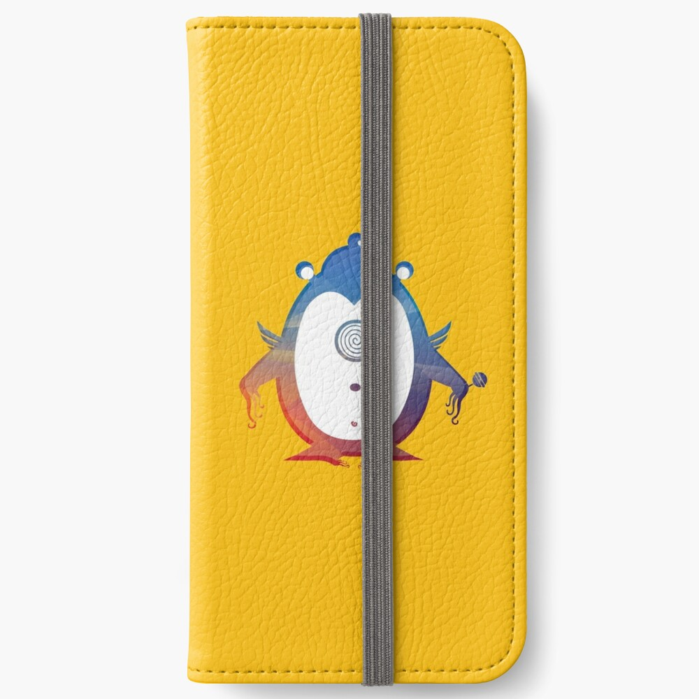 The one eye-monster  iPhone Wallet