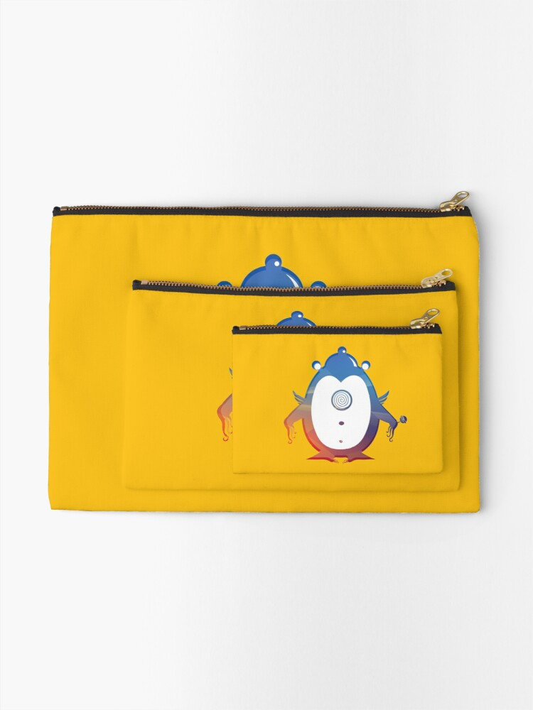 Alternate view of The one eye-monster  Zipper Pouch