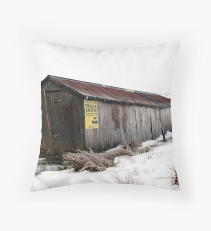 truck show Throw Pillow