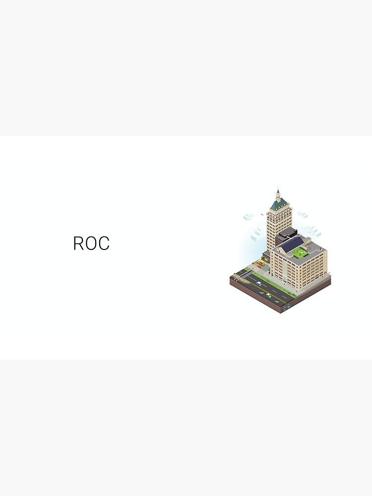 City Blocks: Kodak Tower (Rochester, NY)  by MetroPosters