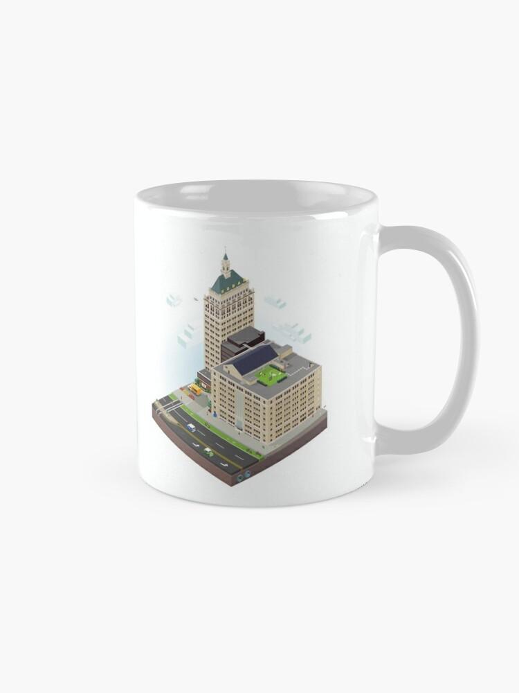 Alternate view of City Blocks: Kodak Tower (Rochester, NY)  Mug
