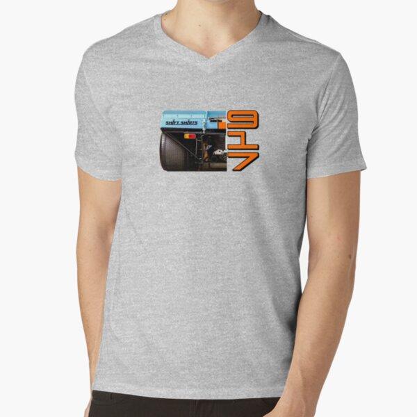 View of Dominance - Lemans 917 Racecar V-Neck T-Shirt