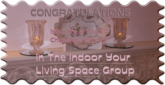Congrats Banner Designed For The Indoor Your Living Space  by Sandra Foster