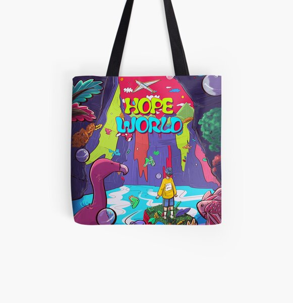 Hope World Tote bag doublé