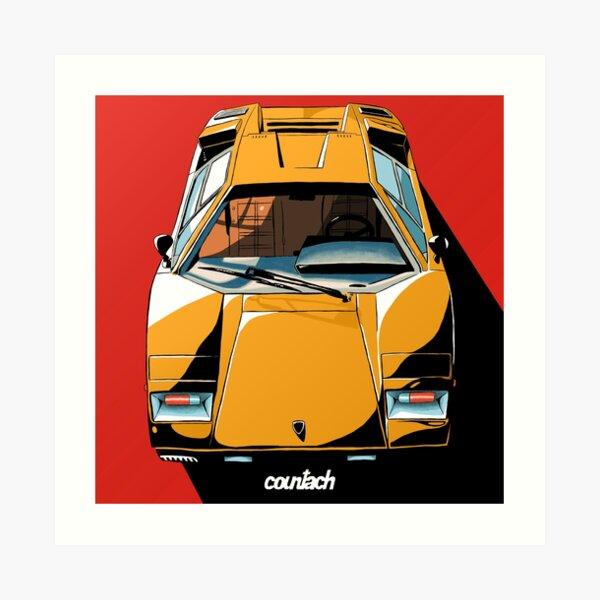 Lamborghini Veneno Art Prints