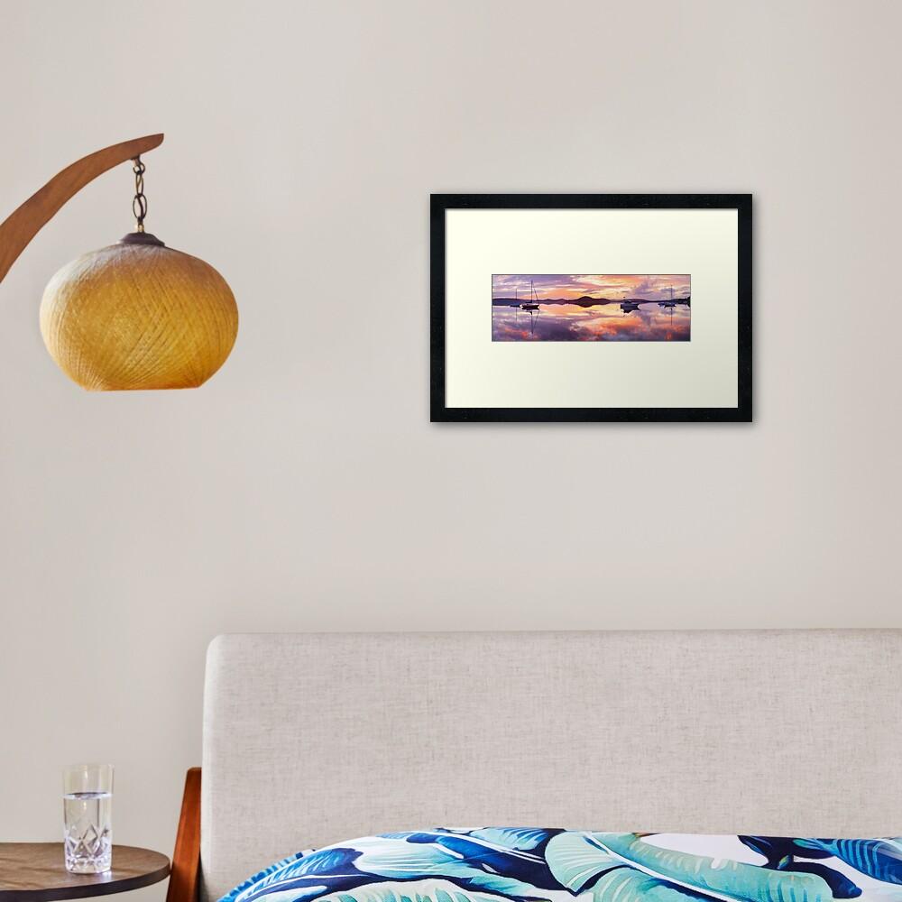 Serenity, Koolewong, New South Wales, Australia Framed Art Print
