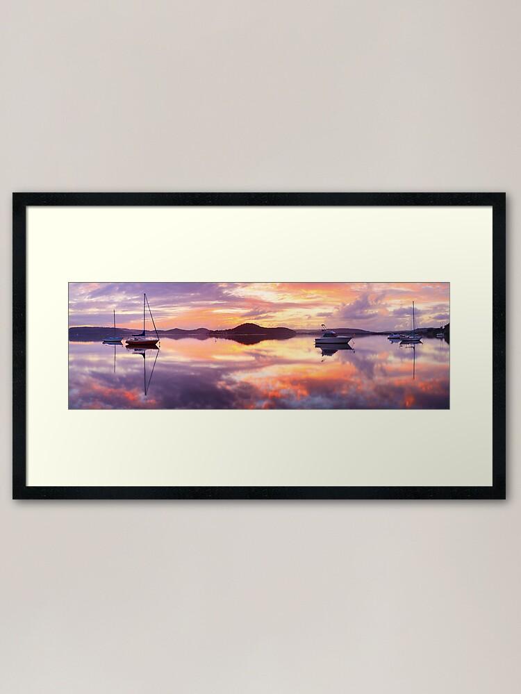 Alternate view of Serenity, Koolewong, New South Wales, Australia Framed Art Print