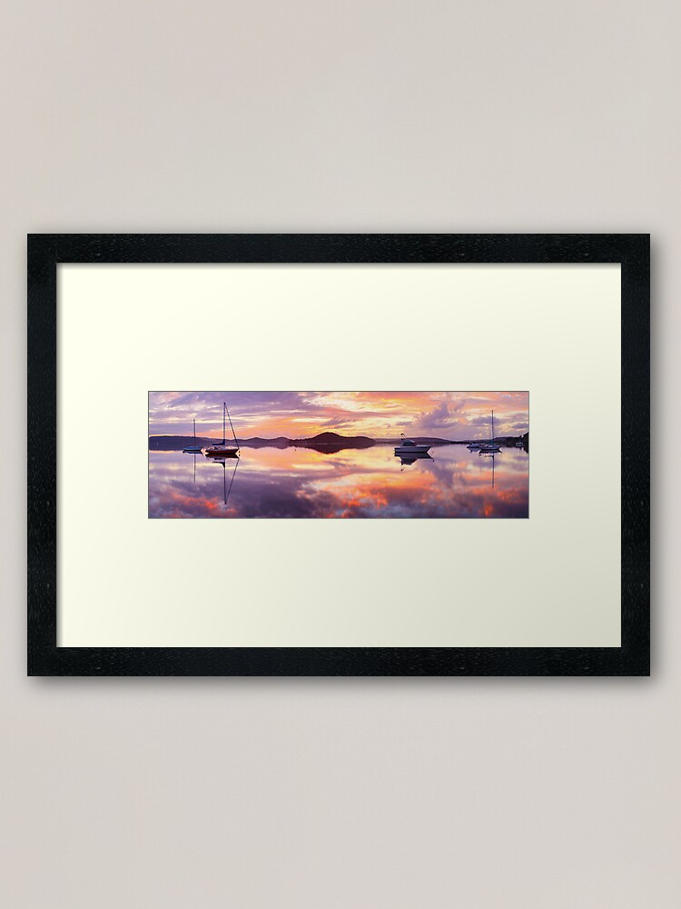 Alternate view of Serenity, Koolewong, New South Wales, Australia Framed Art Print