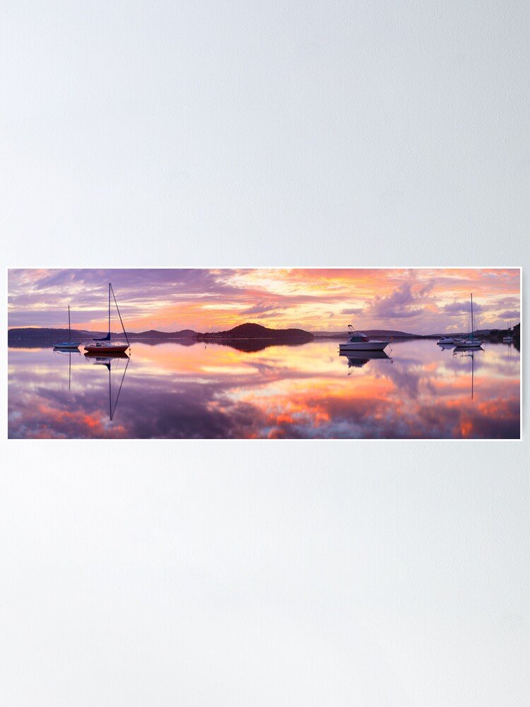 Alternate view of Serenity, Koolewong, New South Wales, Australia Poster