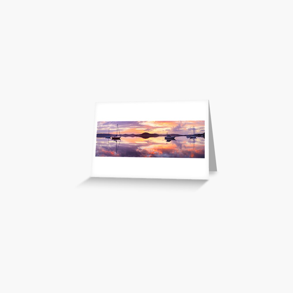 Serenity, Koolewong, New South Wales, Australia Greeting Card