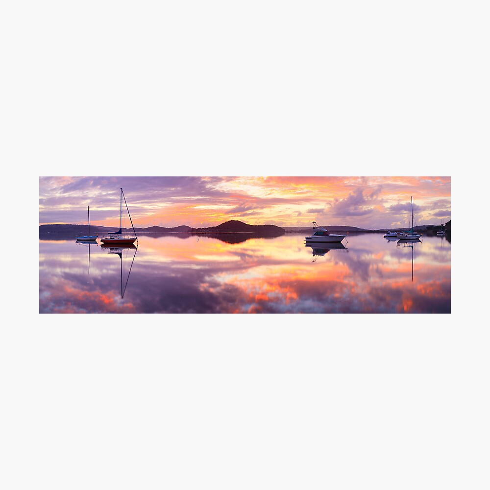 Serenity, Koolewong, New South Wales, Australia Photographic Print