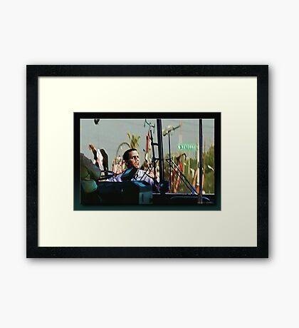 OUCH!!! Framed Print