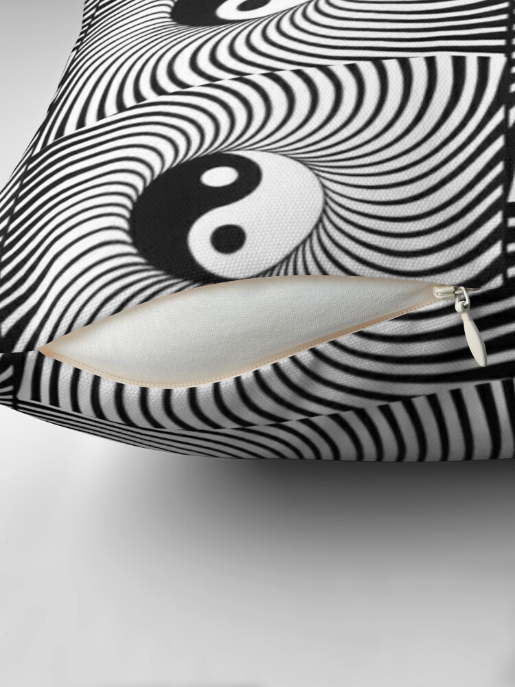 Alternate view of Yin and Yang Floor Pillow