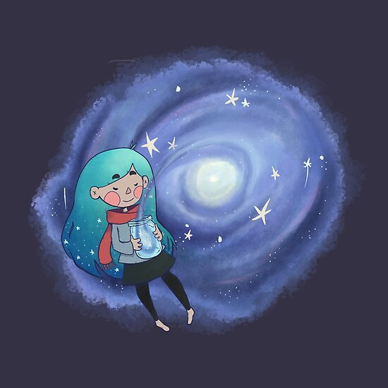 Galaxy in a Jar by Nicole Cischke