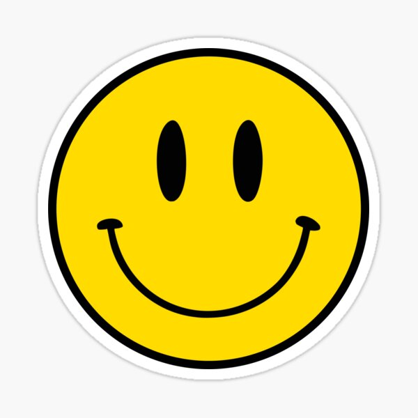 Happy Face | Smiley |  Sticker