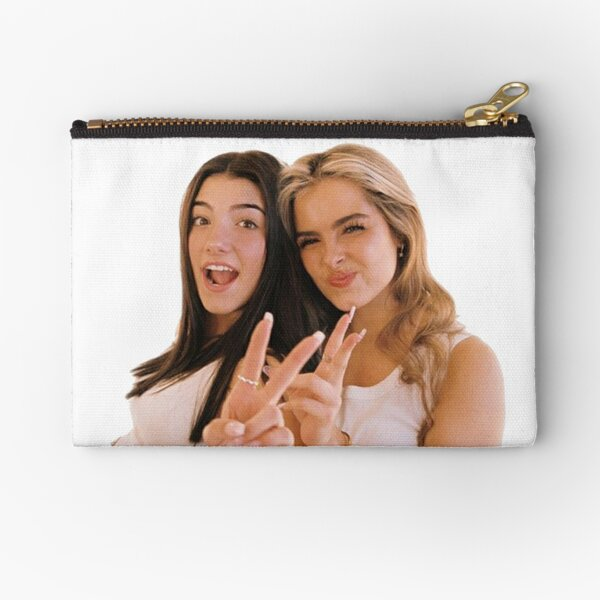 Charlie and Addison Zipper Pouch