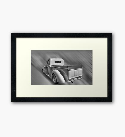 Orange Blossom Special Framed Print