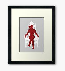 Vector Katniss Framed Print