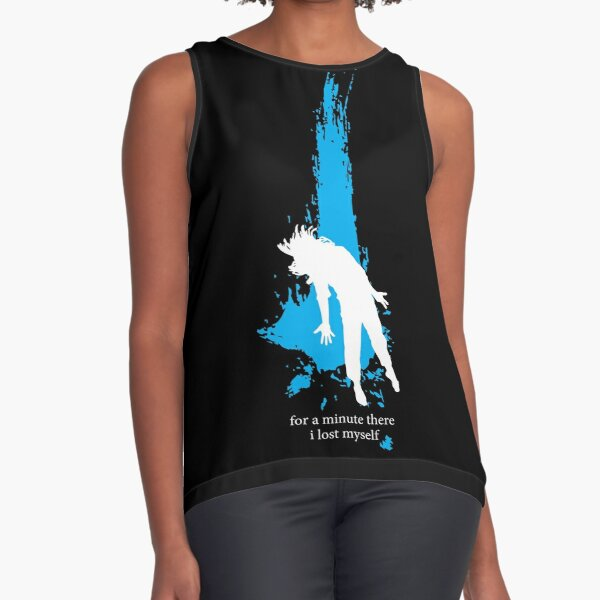 """For a minute there, I lost myself"" - Radiohead - light Sleeveless Top"