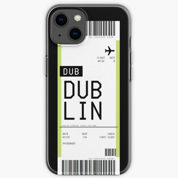 Dublin Boarding Pass iPhone Soft Case