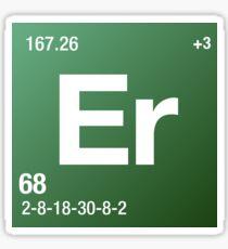 Element Erbium Sticker