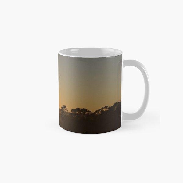 Ibis in the sky - Adelaide Hills - Fleurieu Peninsula - by South Australian artist Avril Thomas Classic Mug