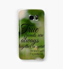 True Friends Anne of Green Gables Samsung Galaxy Case/Skin
