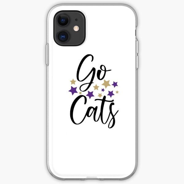 GO CATS iPhone Soft Case
